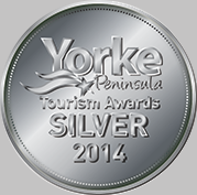2014 Yorke Peninsula Tourism Awards Silver Medal
